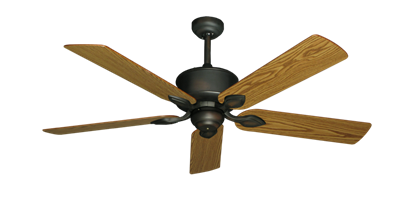 "Picture of Hercules Oil Rubbed Bronze with 52"" Oak Blades"