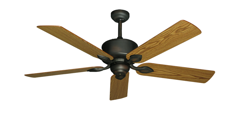 """Picture of Hercules Oil Rubbed Bronze with 52"""" Oak Blades"""