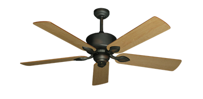"Picture of Hercules Oil Rubbed Bronze with 52"" Maple Blades"
