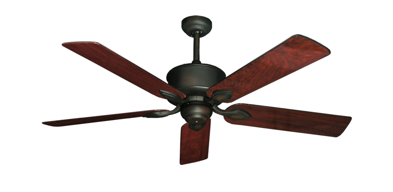 """Picture of Hercules Oil Rubbed Bronze with 52"""" Cherrywood Gloss Blades"""