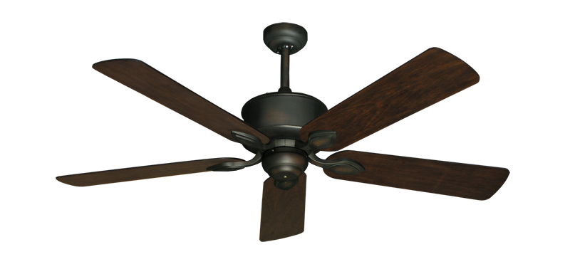 """Picture of Hercules Oil Rubbed Bronze with 52"""" Distressed Hickory Blades"""