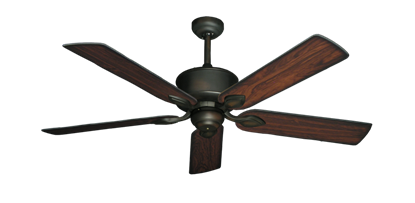 "Picture of Hercules Oil Rubbed Bronze with 52"" Burnt Cherry Blades"