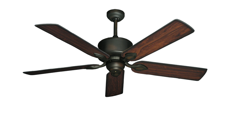 """Picture of Hercules Oil Rubbed Bronze with 52"""" Burnt Cherry Blades"""