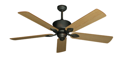 "Picture of Hercules Oil Rubbed Bronze with 56"" Maple Blades"