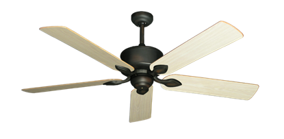 "Picture of Hercules Oil Rubbed Bronze with 56"" Unfinished Oak Blades"