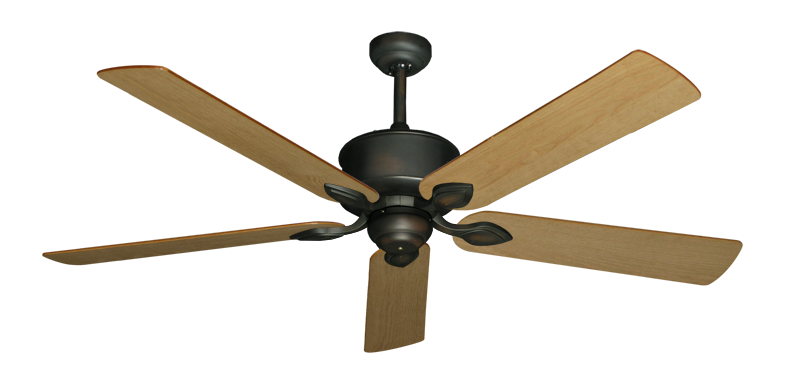 "Picture of Hercules Oil Rubbed Bronze with 60"" Maple Blades"