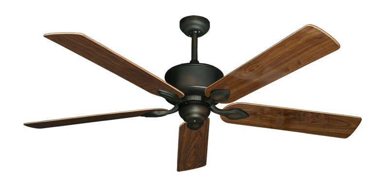 "Picture of Hercules Oil Rubbed Bronze with 60"" Walnut Gloss Blades"