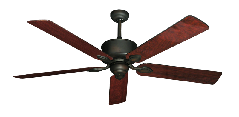 """Picture of Hercules Oil Rubbed Bronze with 60"""" Cherrywood Gloss Blades"""