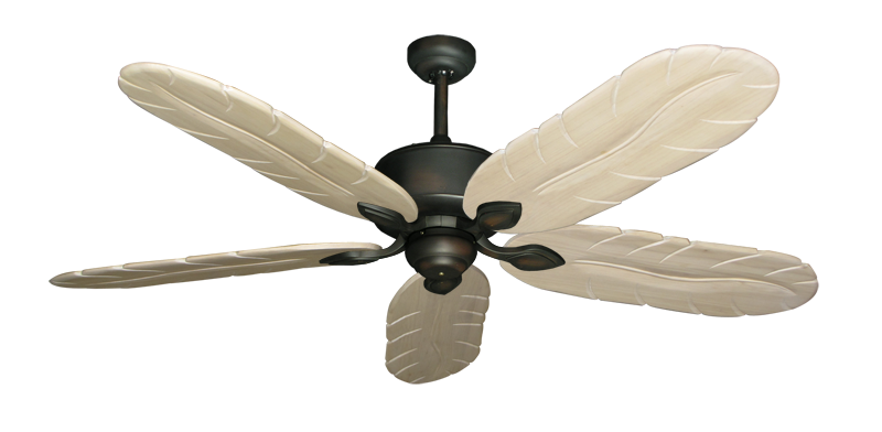 "Picture of Hercules Oil Rubbed Bronze with 58"" Series 500 Arbor Whitewash Blades"