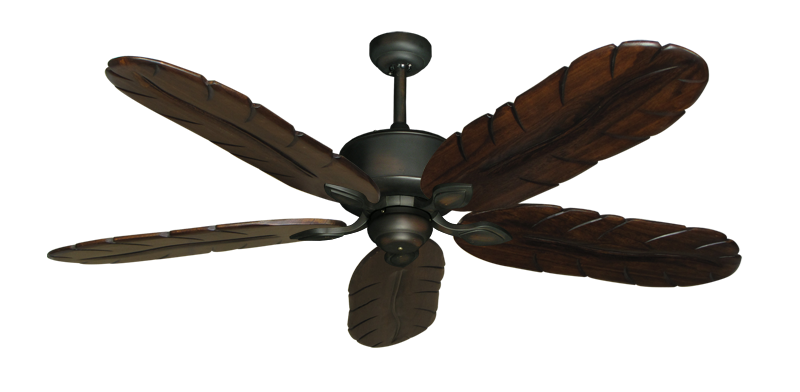"Picture of Hercules Oil Rubbed Bronze with 58"" Series 500 Arbor Dark Walnut Blades"