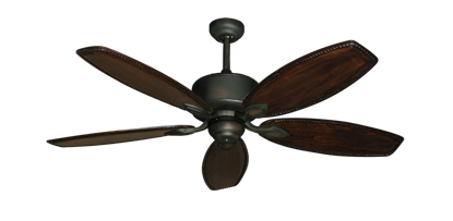 "Picture of Hercules Oil Rubbed Bronze with 52"" Series 550 Arbor Whitewash Blades"