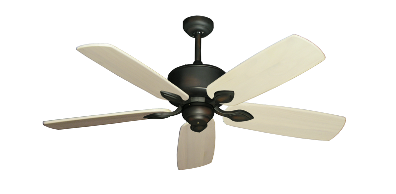 "Picture of Hercules Oil Rubbed Bronze with 52"" Series 710 Arbor Whitewash Blades"