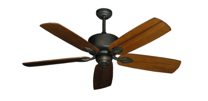 "Picture of Hercules Oil Rubbed Bronze with 52"" Series 710 Arbor Oak Blades"