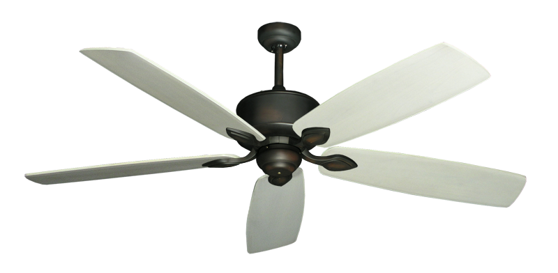 "Picture of Hercules Oil Rubbed Bronze with 60"" Series 725 Arbor Whitewash Blades"