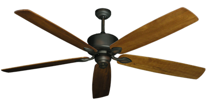 "Picture of Hercules Oil Rubbed Bronze with 72"" Series 750 Arbor Oak Blades"