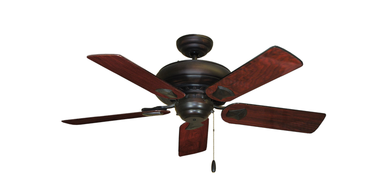 """Picture of Tiara Oil Rubbed Bronze with 44"""" Cherrywood Gloss Blades"""