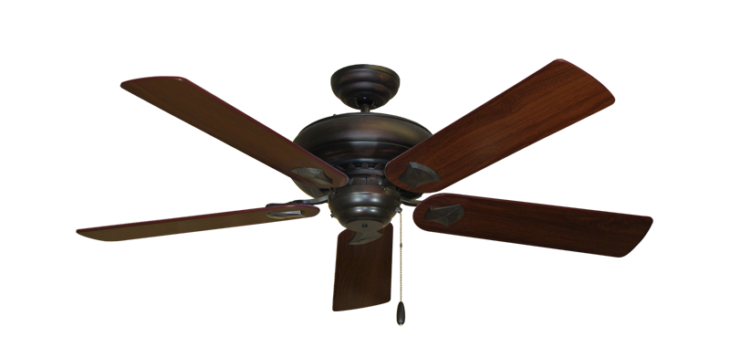 "Picture of Tiara Oil Rubbed Bronze with 52"" Walnut Blades"