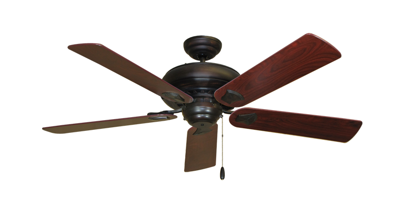 "Picture of Tiara Oil Rubbed Bronze with 52"" Cherrywood Blades"