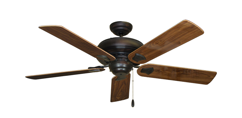 "Picture of Tiara Oil Rubbed Bronze with 52"" Walnut Gloss Blades"
