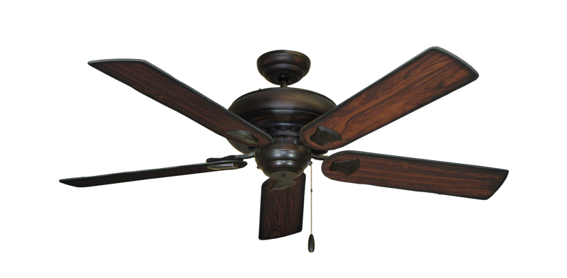 "Picture of Tiara Oil Rubbed Bronze with 52"" Burnt Cherry Blades"