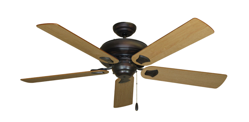 """Picture of Tiara Oil Rubbed Bronze with 56"""" Maple Blades"""