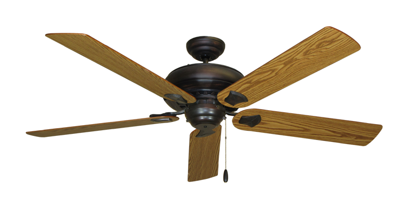 """Picture of Tiara Oil Rubbed Bronze with 60"""" Oak Blades"""