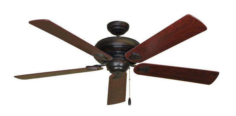 """Picture of Tiara Oil Rubbed Bronze with 60"""" Cherrywood Blades"""
