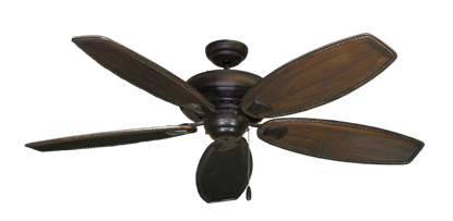 """Picture of Tiara Oil Rubbed Bronze with 60"""" Series 525 Arbor Dark Walnut Blades"""