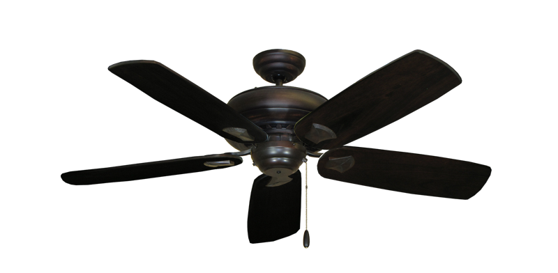 "Picture of Tiara Oil Rubbed Bronze with 52"" Series 710 Arbor Dark Walnut Blades"