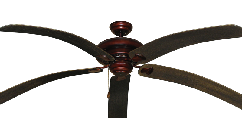 """Picture of Tiara Wine with 80"""" Bahama Bent Walnut Blades"""