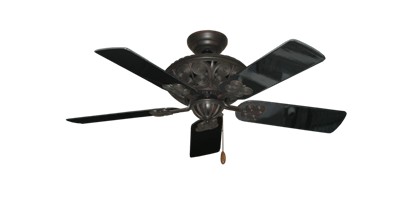"""Picture of Monarch Oil Rubbed Bronze with 44"""" Black Gloss Blades"""