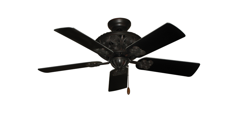 "Picture of Monarch Oil Rubbed Bronze with 44"" Black Blades"