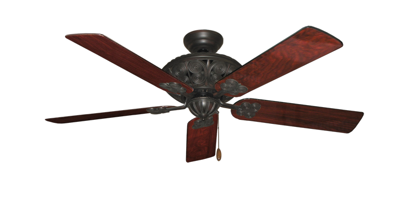 """Picture of Monarch Oil Rubbed Bronze with 52"""" Cherrywood Gloss Blades"""