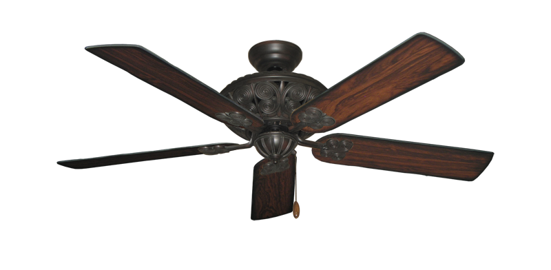 "Picture of Monarch Oil Rubbed Bronze with 52"" Burnt Cherry Blades"