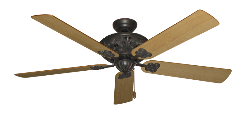 """Picture of Monarch Oil Rubbed Bronze with 60"""" Maple Blades"""