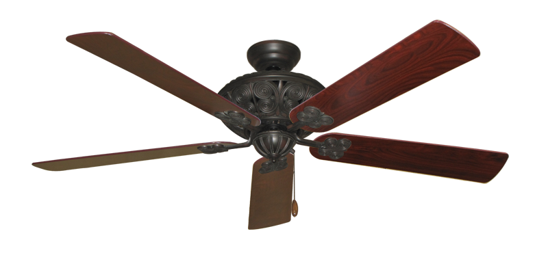"""Picture of Monarch Oil Rubbed Bronze with 60"""" Cherrywood Blades"""