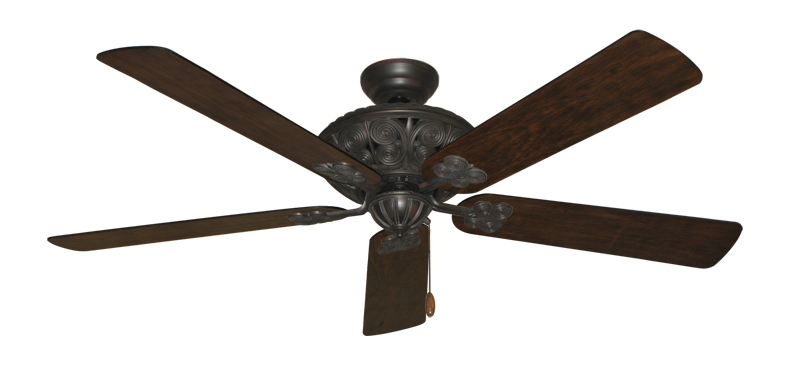 """Picture of Monarch Oil Rubbed Bronze with 60"""" Distressed Hickory Blades"""