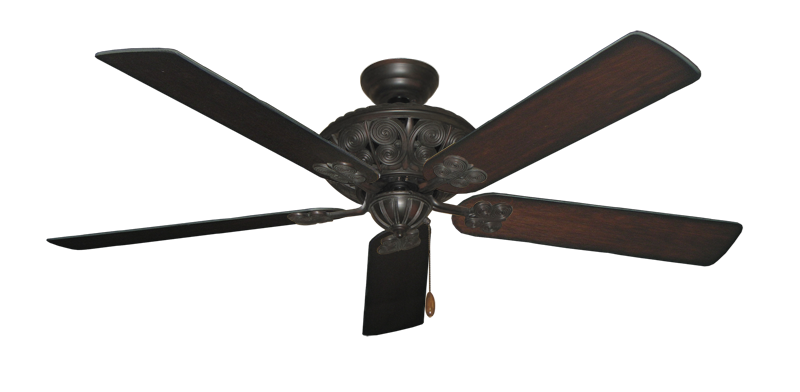 "Picture of Monarch Oil Rubbed Bronze with 60"" Distressed Cherry Blades"