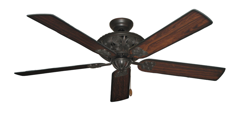"Picture of Monarch Oil Rubbed Bronze with 60"" Burnt Cherry Blades"