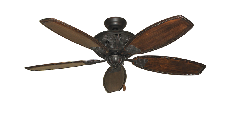 "Picture of Monarch Oil Rubbed Bronze with 52"" Series 550 Arbor Whitewash Blades"