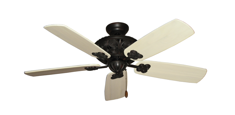 """Picture of Monarch Oil Rubbed Bronze with 52"""" Series 710 Arbor Whitewash Blades"""