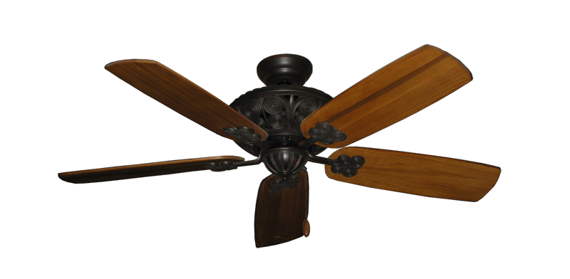 "Picture of Monarch Oil Rubbed Bronze with 52"" Series 710 Arbor Oak Blades"