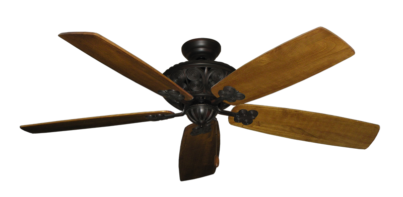 """Picture of Monarch Oil Rubbed Bronze with 60"""" Series 725 Arbor Oak Blades"""