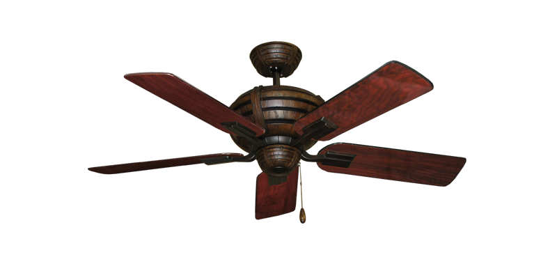 """Picture of Madeira Oil Rubbed Bronze with 44"""" Cherrywood Gloss Blades"""