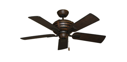 """Picture of Madeira Oil Rubbed Bronze with 44"""" Distressed Walnut Blades"""