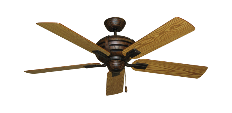 "Picture of Madeira Oil Rubbed Bronze with 52"" Oak Blades"