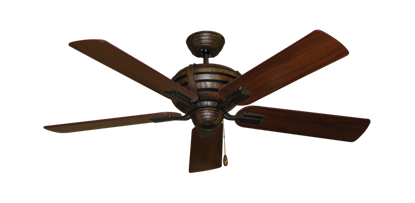 """Picture of Madeira Oil Rubbed Bronze with 52"""" Walnut Blades"""
