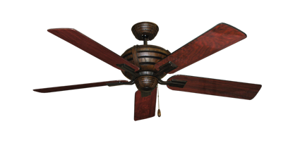 """Picture of Madeira Oil Rubbed Bronze with 52"""" Cherrywood Gloss Blades"""