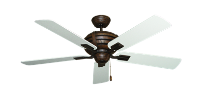"Picture of Madeira Oil Rubbed Bronze with 52"" Textured White Blades"
