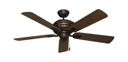 """Picture of Madeira Oil Rubbed Bronze with 52"""" Distressed Walnut Blades"""